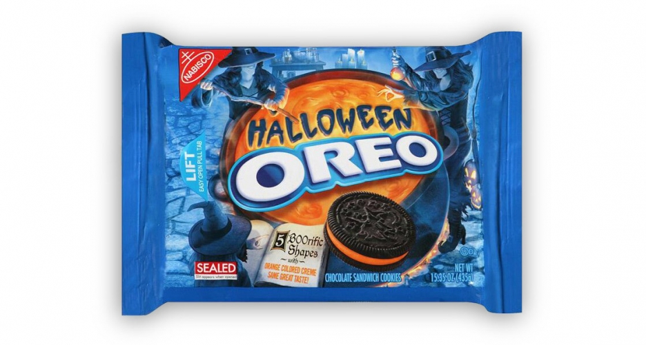 Halloween Oreo Packaging